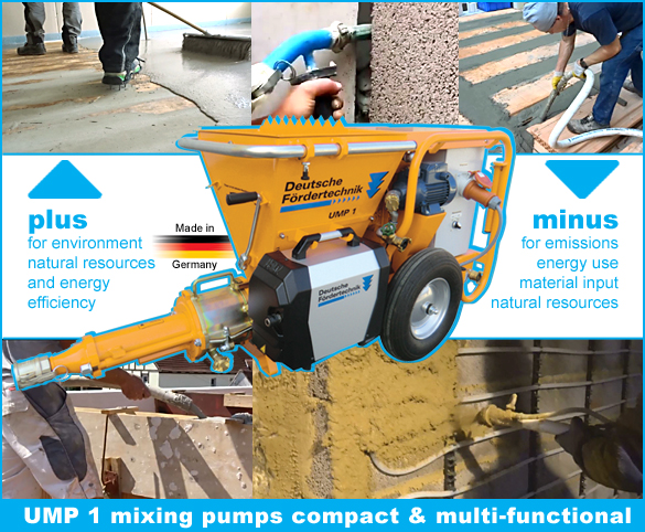 UMP1 mixing and conveying pumps compact class
