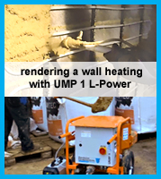 processing clay products with UMP1 L-Power mixing pump