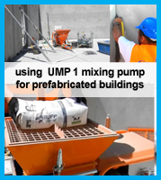 UMP1 using with joint mortar for precast concrete components